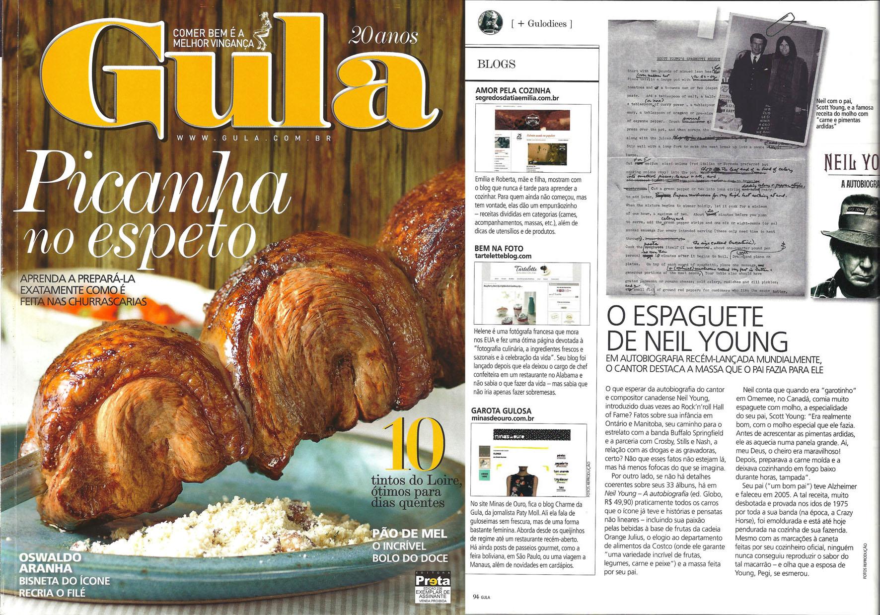 2012 - Revista Gula Edição 236_montagem_Capa_Pag